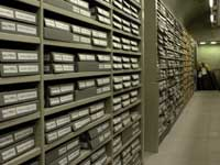 records storage at the NAS