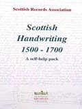 cover of Scottish Handwriting self-help pack