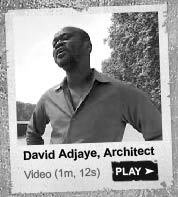 David Adjaye speaks about Sir Basil Spence