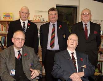 veterans from the Royal British Legion Scotland and Erskine