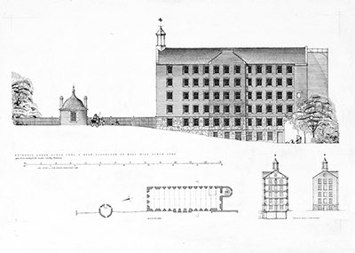 Bell Mill at Stanley Mills, Perth and Kinross